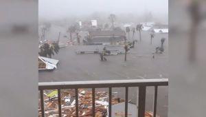 """""""Monstruoso"""" ojo de huracán Michael comienza a dejar estragos en zonas de Florida"""
