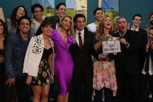 Marjorie de Sousa y Jorge Salinas inician grabaciones de telenovela 'Un poquito tuyo'