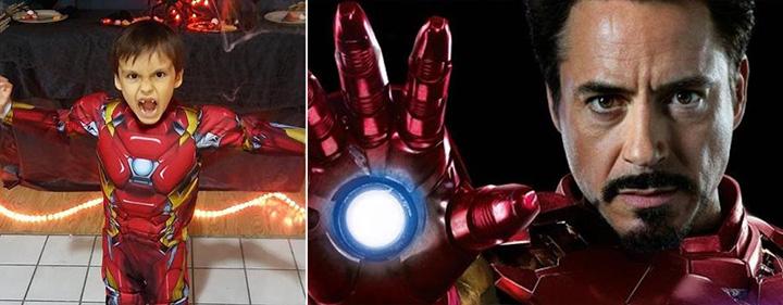 Mensaje especial a un pequeño fan de Iron Man que padece cáncer