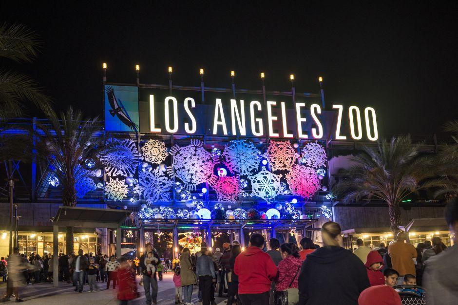 Los mejores espectáculos de luces navideñas de Los Angeles y sus alrededores