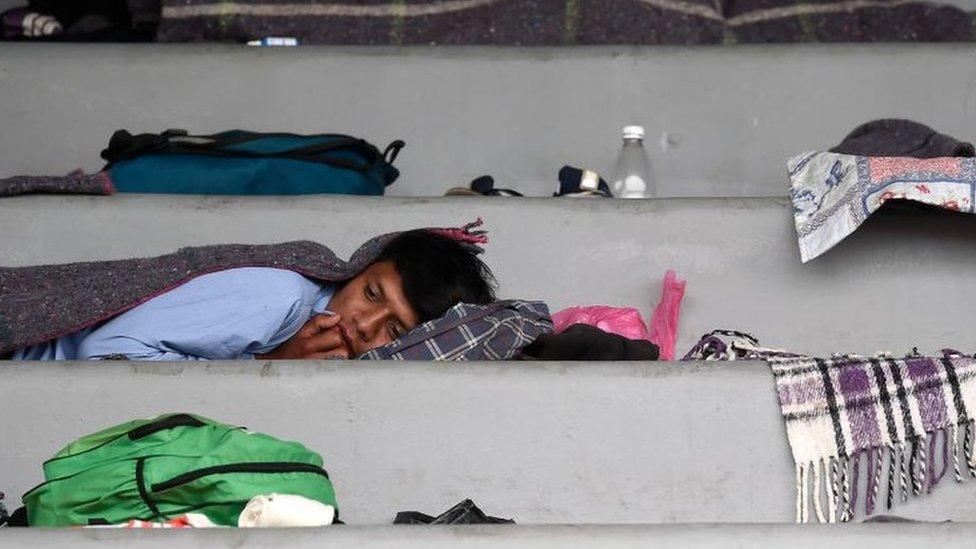 """Por esta razón la Ciudad de México es un punto """"crucial"""" para la Caravana Migrante"""
