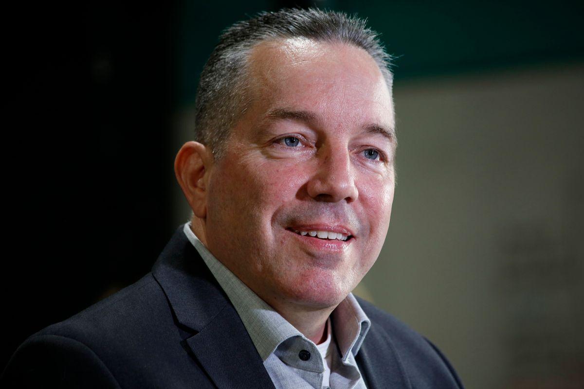 Alex Villanueva es el Sheriff electo de Los Angeles. (Aurelia Ventura/ La Opinion)