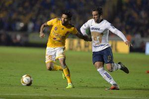 Tigres de la UANL llegan de atrás y derrotan por 2-1 a los Pumas de UNAM