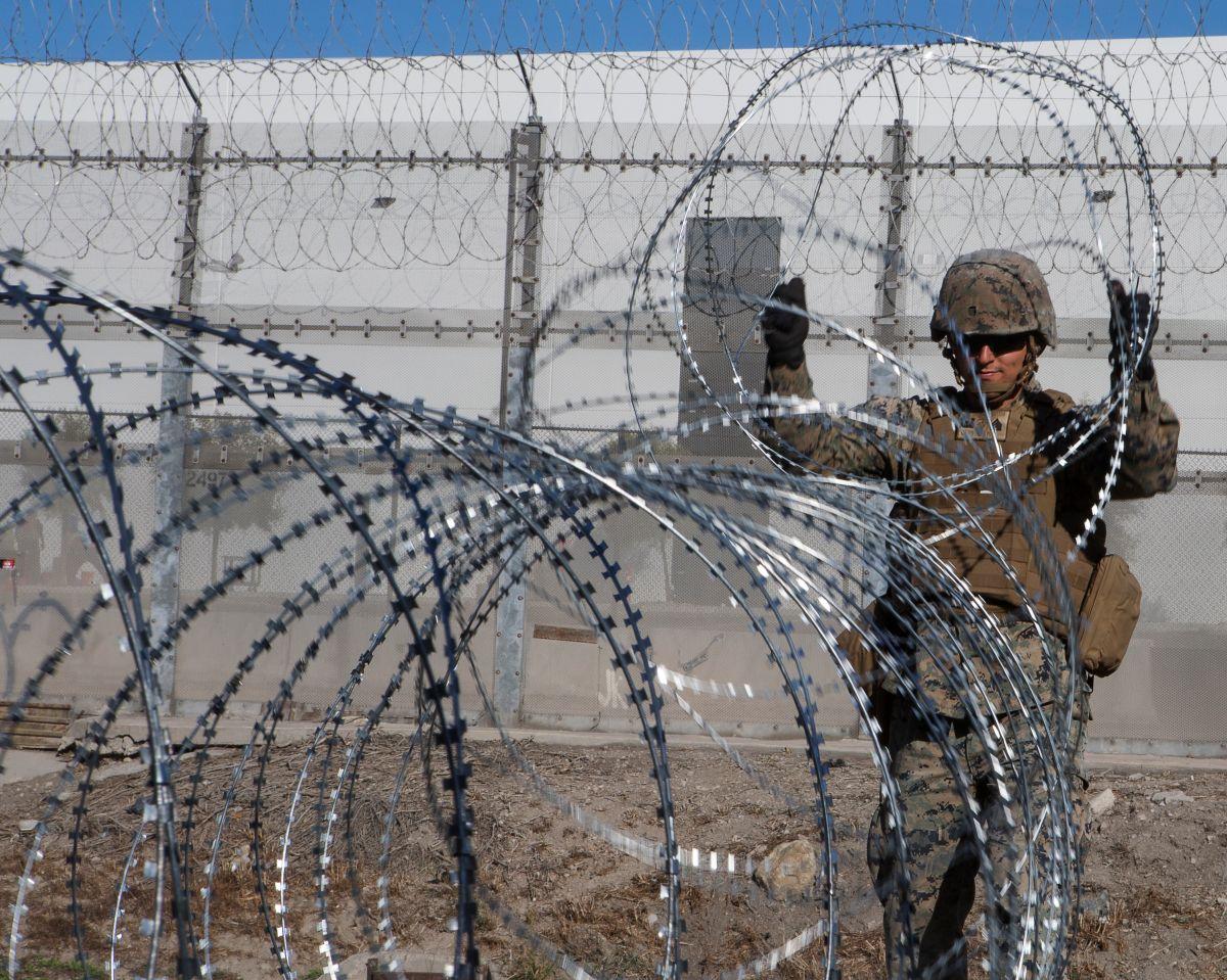 Al parecer, el ejército de EEUU también custodiará a niños migrantes.