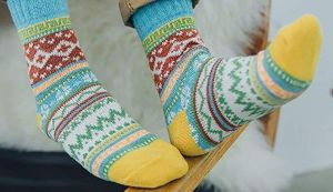 4 pares de medias térmicas para usar en los días fríos de otoño