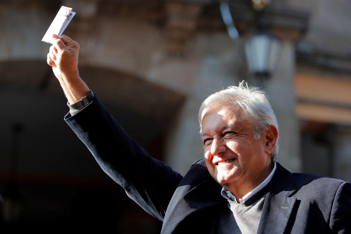 López Obrador tomará posesión de la presidencia el 1 de diciembre.