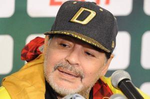 Maradona culpa al presidente Macri por la situación en el fútbol y la crisis argentina