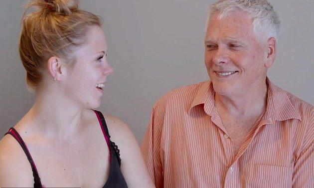 Stefani y Don son felices, pese a la diferencia de edad.