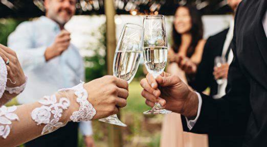 7 copas especiales para brindar en tu boda