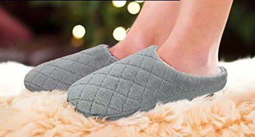 6 pantuflas acolchadas para usar en casa en los días fríos