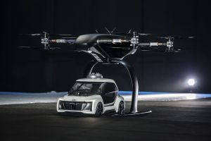 Checa estas imágenes del taxi volador que Audi está diseñando