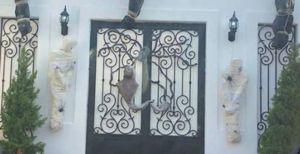 La macabra decoración inspirada en el narco en Sinaloa que sigue dando de qué hablar