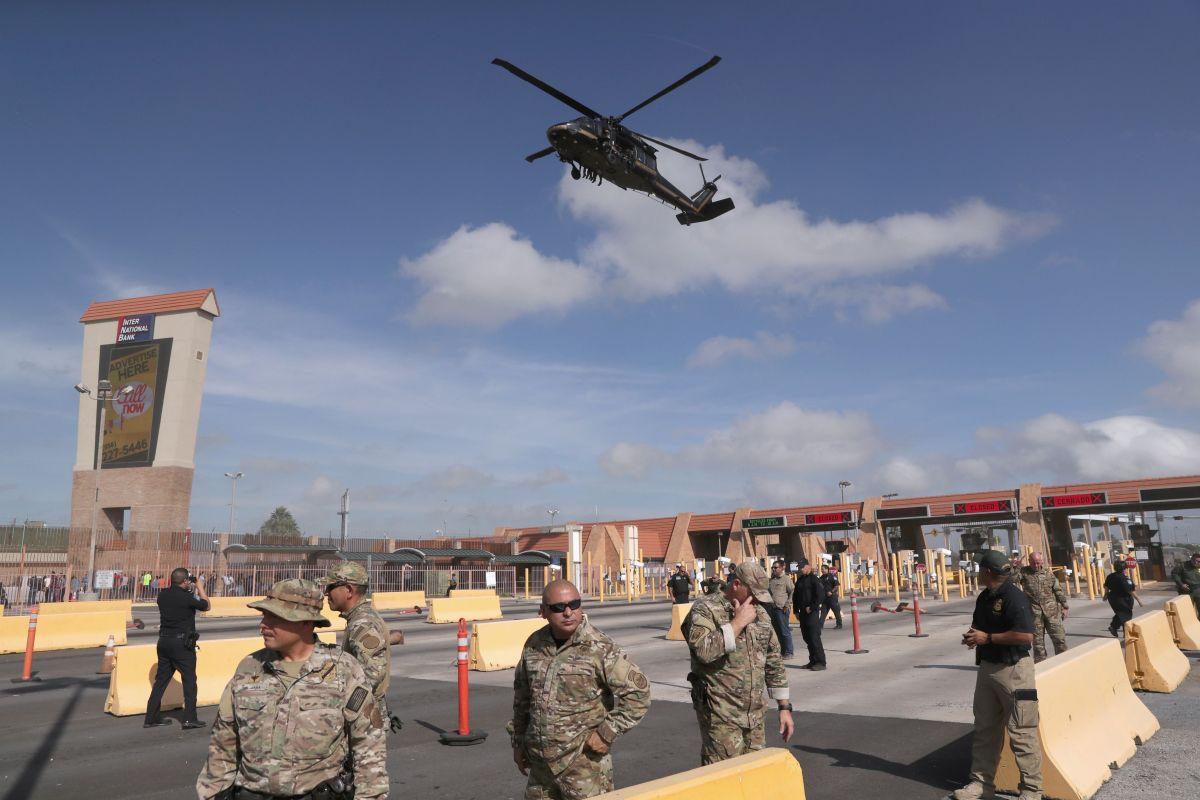 Las tropas continuarán en la frontera sur de EEUU.