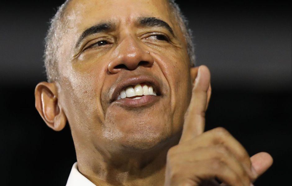 """Barack Obama criticó a las estrellas de rap: """"si estás seguro de tu masculinidad, no necesitas ocho mujeres haciendo 'twerking' a tu alrededor"""""""