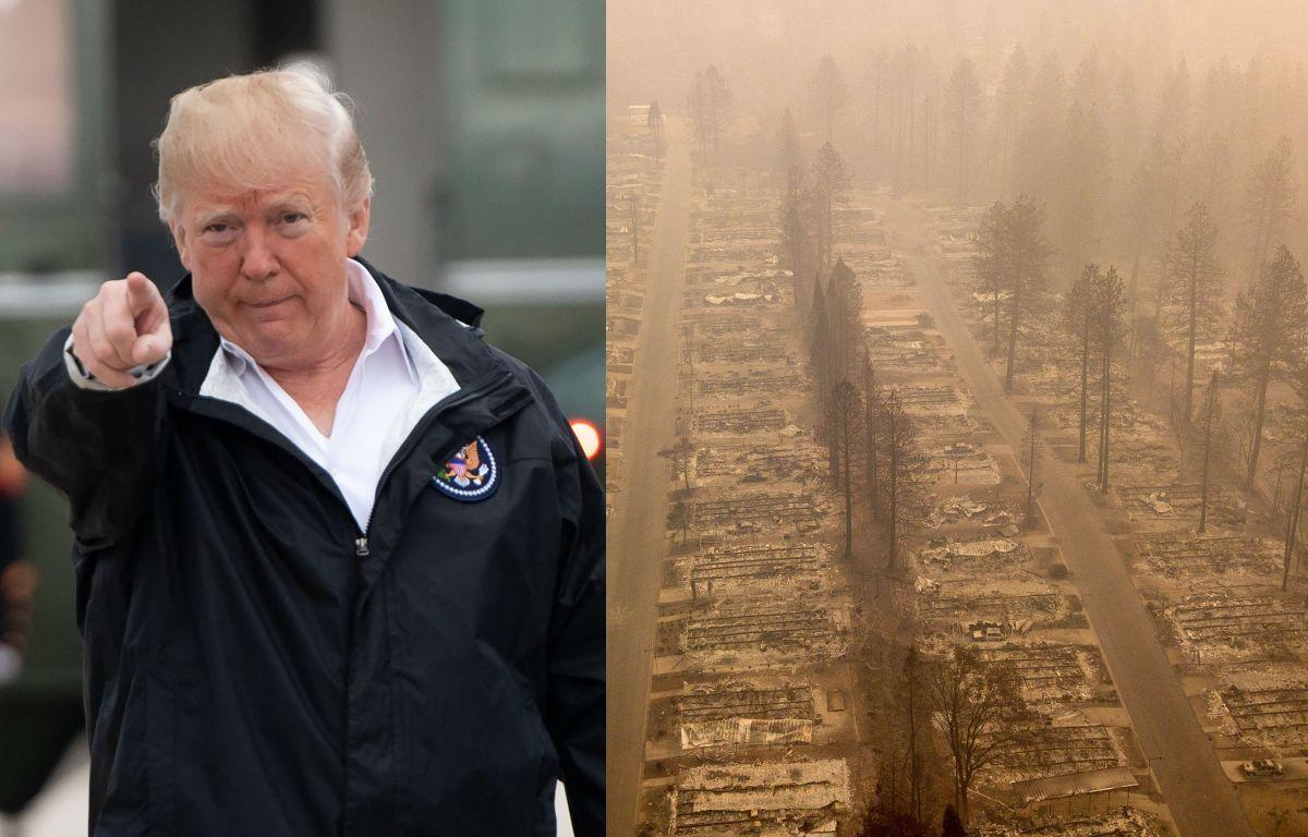 El gobierno Trump sigue haciendo política con la tragedia de California