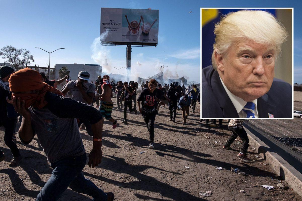 Jefe de CBP defiende uso de gases lacrimógenos contra migrantes en la frontera