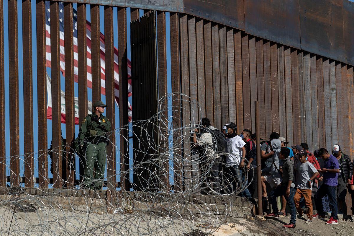La caravana migrante espera recibir asilo en EEUU.