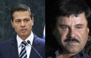 La venganza del Chapo podría alcanzar a expresidente Enrique Peña Nieto