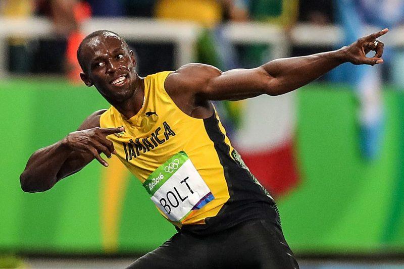 El exatleta olímpico jamaiquino Usain Bolt.