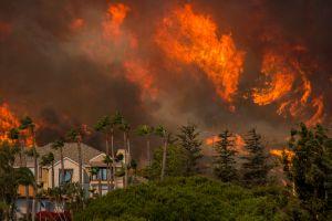 ¡Malibu en llamas!
