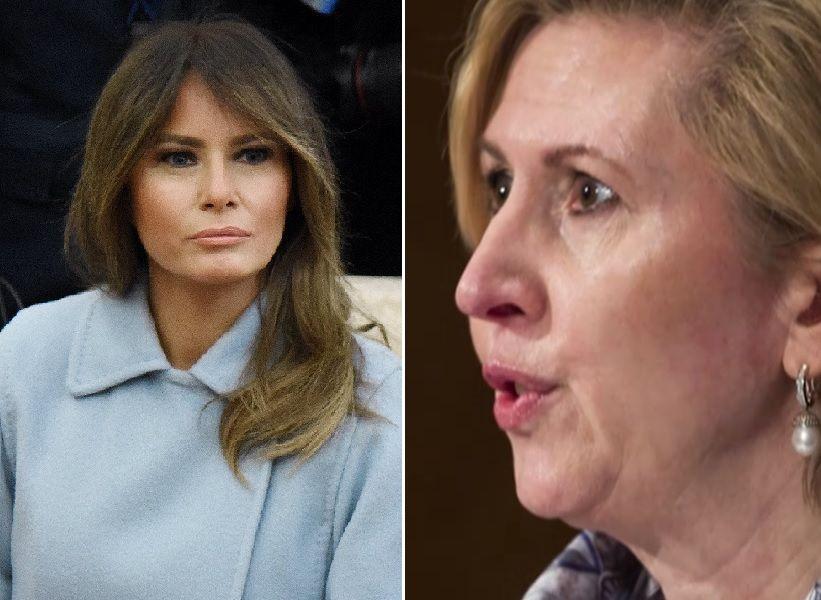 La primera dama Melania Trump fue la peor enemiga de Mira Ricardel.