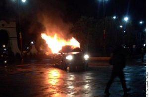 Turba lincha a presunto ladrón en Juchitepec, Esstado de México
