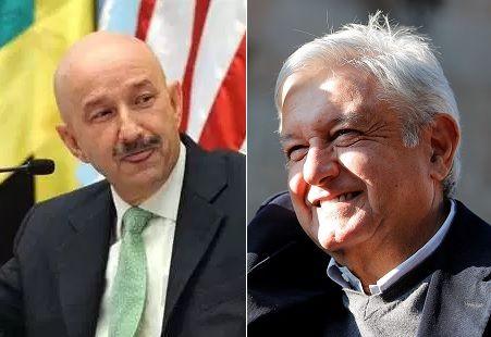 Carlos Salinas de Gortari y Andrés Manuel López Obrador.