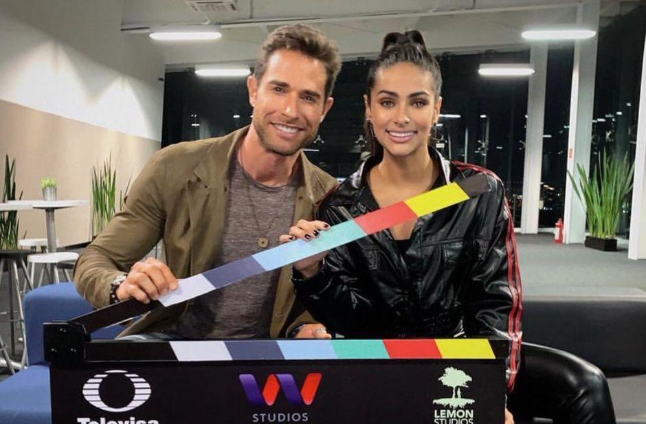 Sebastián Rulli y Renata Notni inician grabaciones de 'El último dragón', serie de Univision y Televisa