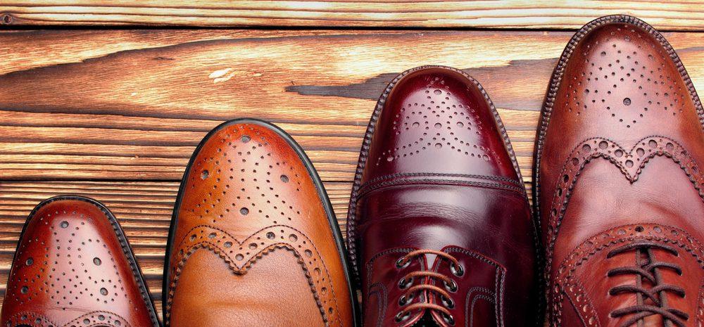 7 zapatos Oxford de hombres para usar durante la temporada de fiestas