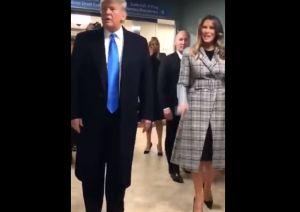 La porra a Donald y Melania Trump de la que pocos hablan