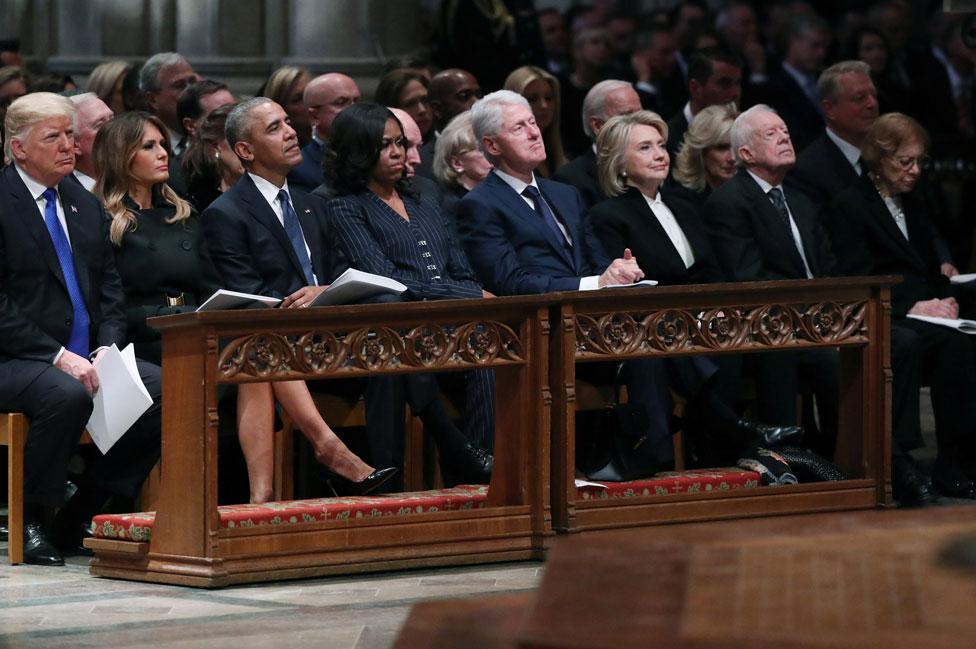 Los Trump, los Obama, los Clinton y los Carter.