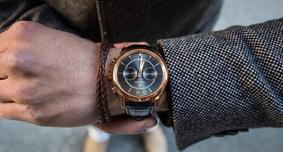 5 relojes marca Vincero para hombres clásicos y elegantes