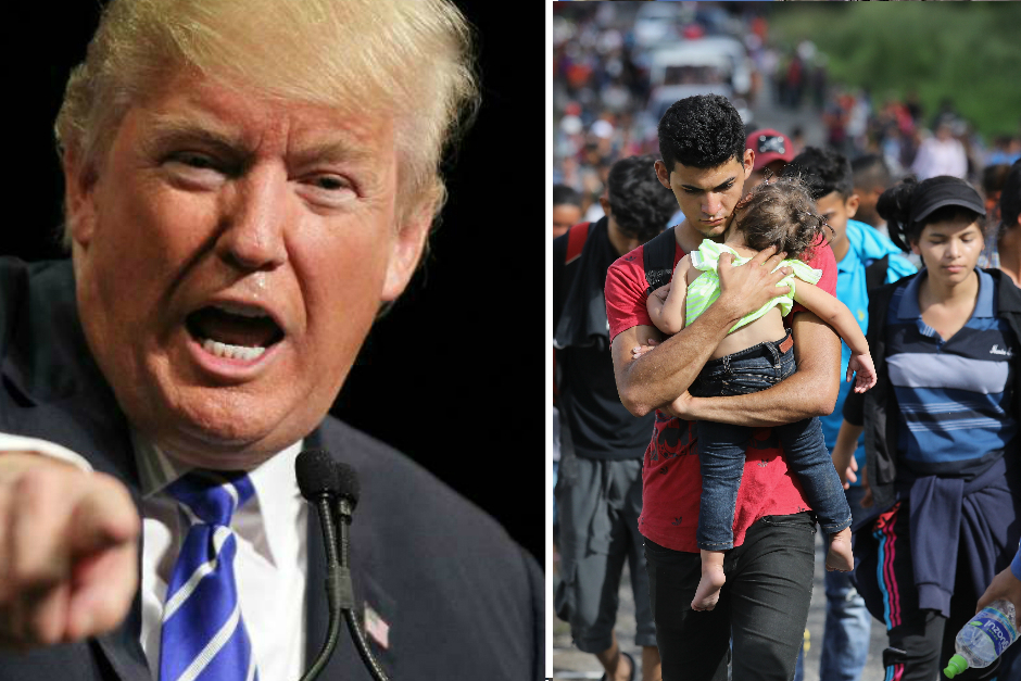 Trump estudia cobrar tarifa a inmigrantes que soliciten asilo