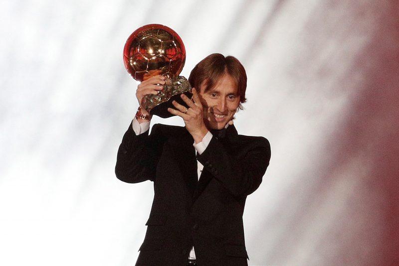 Luka Modric rompe la hegemonía Messi-Cristiano y se lleva el Balón de Oro