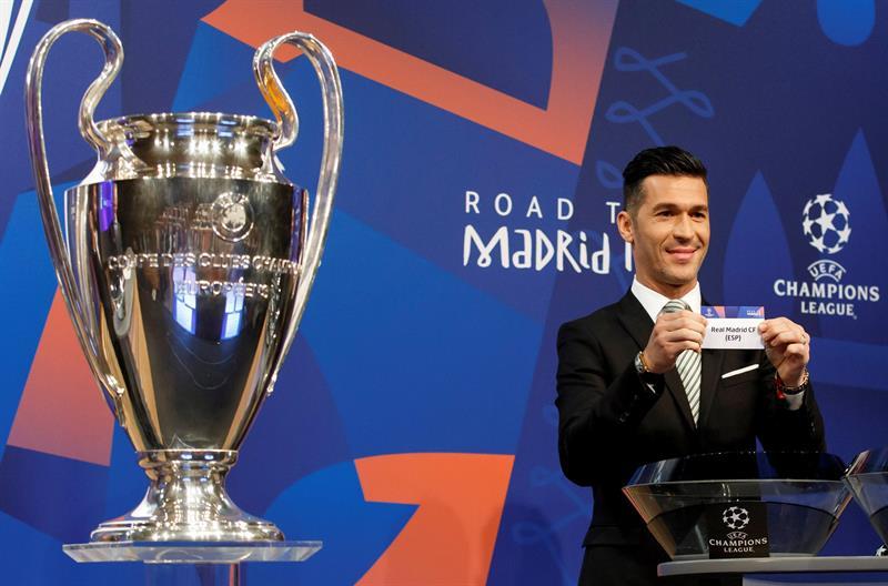 Así quedaron los partidos para octavos de final de la Champions League