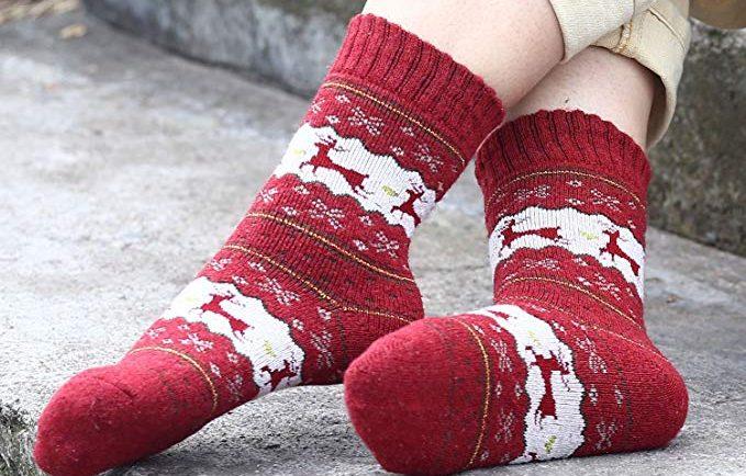 7 calcetines navideños perfectos para protegerte del frío