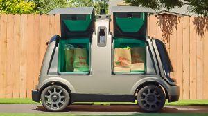 En Arizona ya hacen delivery de productos en autos autónomos