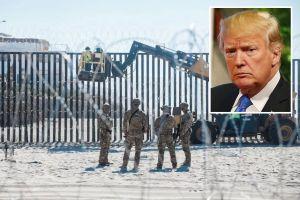 Juez federal bloquea la construcción del muro de Trump con fondos militares