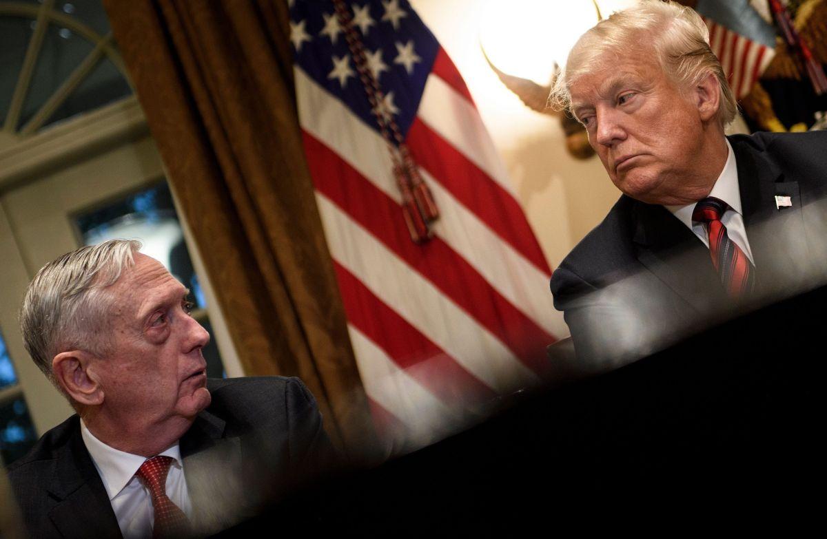 Trump anunció que Mattis abandonará el gobierno en febrero