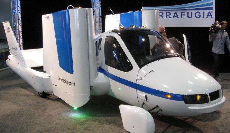El Terrafugia: el auto volador más esperado por todos