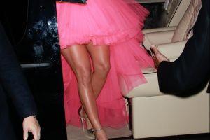 Las piernas de Jennifer López calentaron las calles de Nueva York