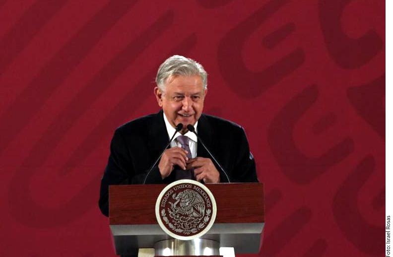 López Obrador asegura que no cederá a amenazas ni a presiones del crimen organizado