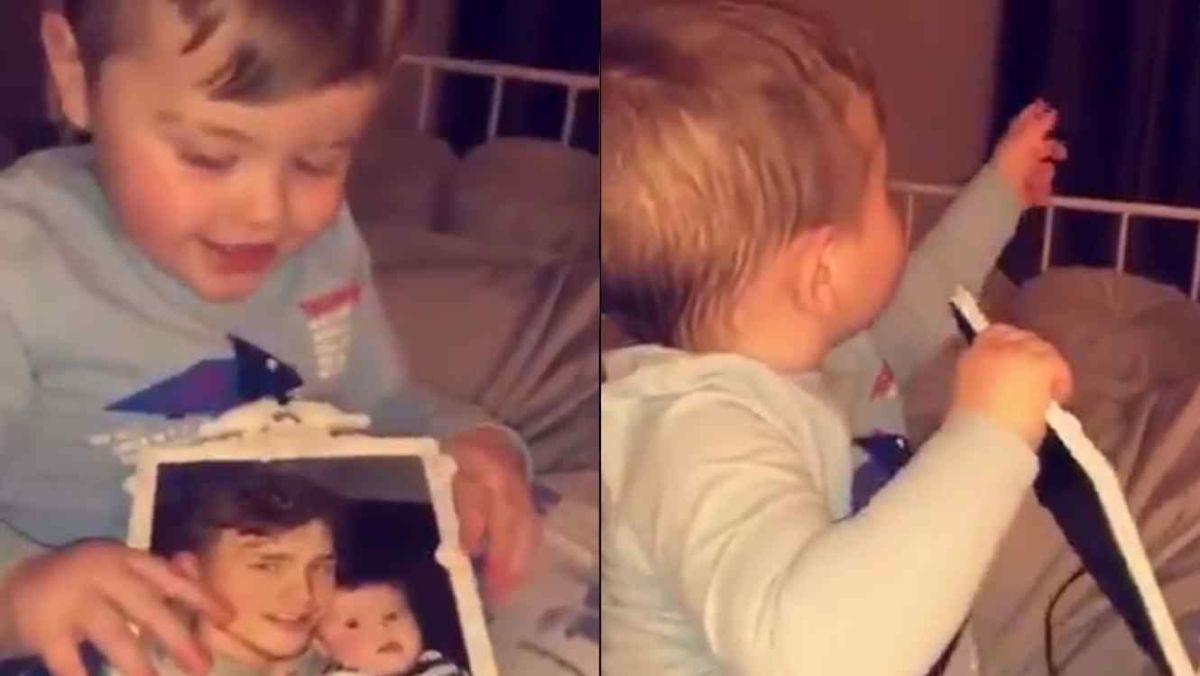Bebé puede percibir espíritu de su fallecido padre