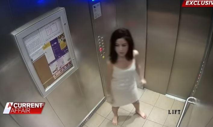 Pretendía denunciar a su marido por maltrato pero cámara en elevador descubrió su gran mentira