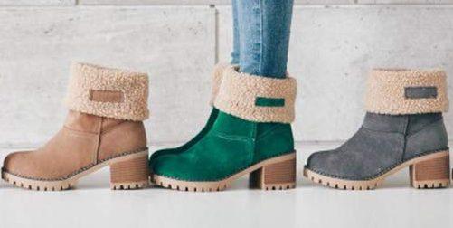 5 botas de mujer acolchados para protegerte del frío en invierno