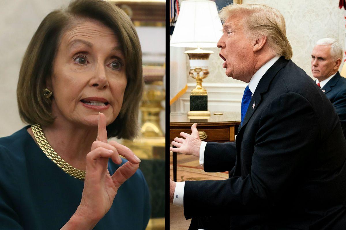 """Pelosi relaciona la """"hombría"""" de Trump con su obsesión migratoria"""