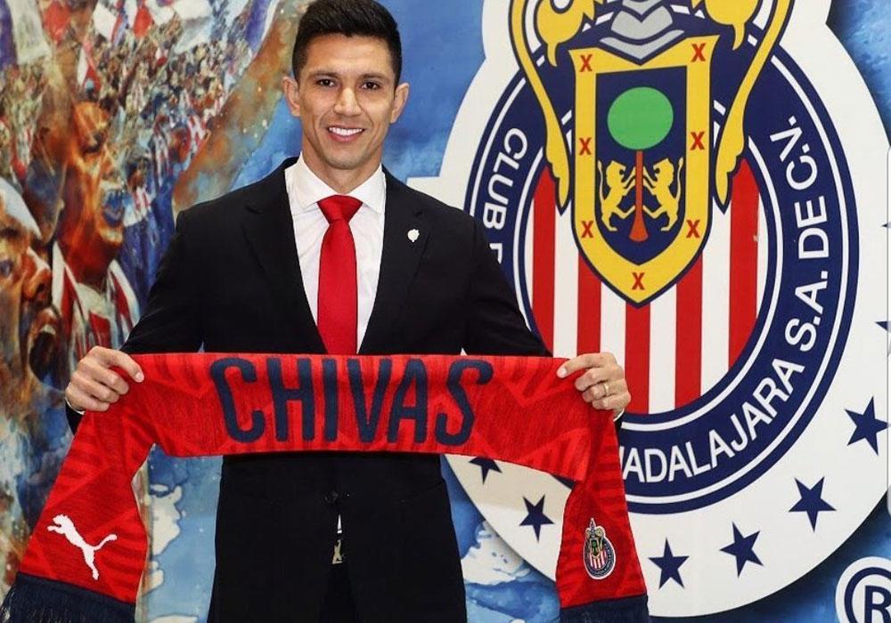 Chivas presentó a Jesús Molina como su refuerzo de lujo para el Clausura 2019