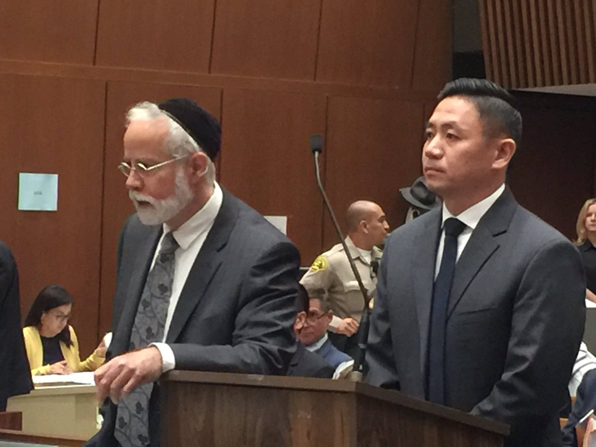 Luke Liu enfrenta cargos de homicidio intencional por la muerte de un hombre en una gasolinera de Norwalk. (@CraigNews3LV)
