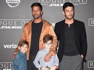 Los hijos de Ricky Martin se divierten con Daniel El Travieso