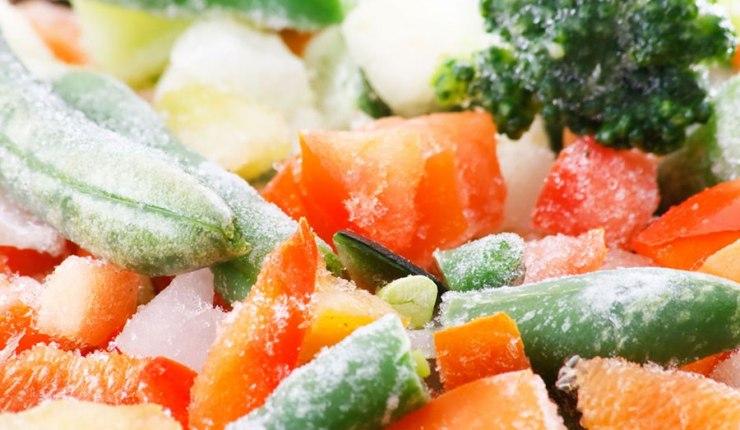 Las verduras congeladas ¿Son realmente saludables?